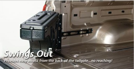 Pickup Truck Tool Box - Truck Box Organizer for a Ford Truck & Pickup Truck Tool Box for a Ford truck